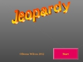 Adaptations Jeopardy Game