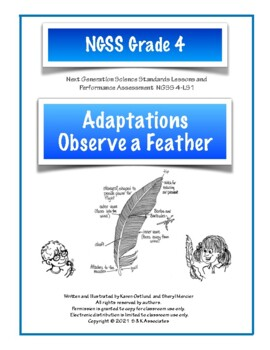 Adaptations: Observing Feathers NGSS Structures and Processes Grade 4 LS1-1
