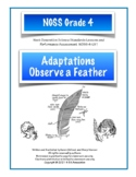 Adaptations: Observing Feathers NGSS Structures and Proces