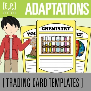 Adaptations Science Trading Cards