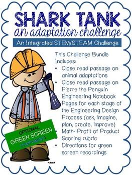 Adaptations Shark Tank STEM Challenge