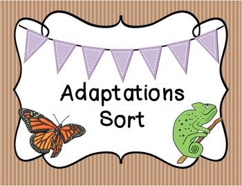 Adaptations Sort