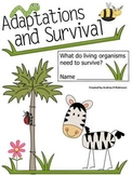 Adaptations & Survival Packet for Science!