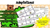 Adaptations * True or False Task Cards * DISTANCE LEARNING OPTION