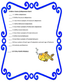 Adaptations and Behaviors Children's Book Rubric