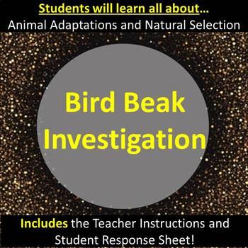 Adaptations and Natural Selection:  The Bird Beak Investigation