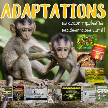 Adaptations Unit for Plant & Animal Adaptations & Extincti