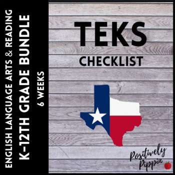 Language Arts and Reading Vertical TEKS Checklist Adapted 2017 for 2019-2020 K-8