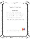 Adapted / AAC Valentine's Day Packet
