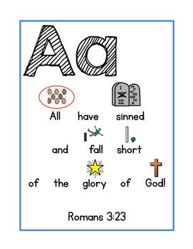 Adapted ABC Memory Verses