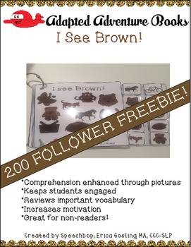 Adapted Adventure Books! - Color Series - BROWN! 200 FOLLOWER FREEBIE!