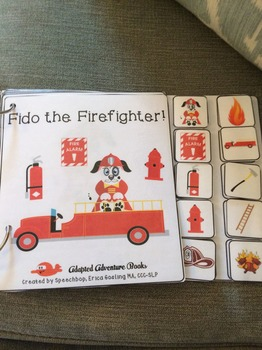 Adapted Adventure Books! - Fire Safety