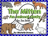 Adapted Animal Study & Posters for The Mitten by Jan Brett