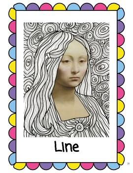 Adapted Art: Line
