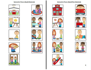 Adapted Back to School Book (2) : PRE-K / AUTISM