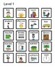 Adapted Back to School Comprehension Cards