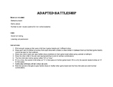 Adapted Battleship Game