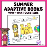 Summer Beach Adapted Book