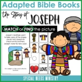 Adapted Bible Books | Joseph and The Coat of Many Colors and Joseph in Egypt