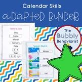 Adapted Binder: Calendar Skills
