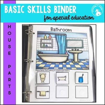 Adapted Binder Daily Living Skills SPED