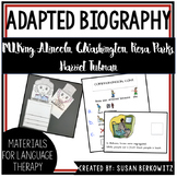 Adapted Biographies Bundle |Presidents | ML King | Black H