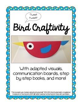 Adapted Bird Craftivity
