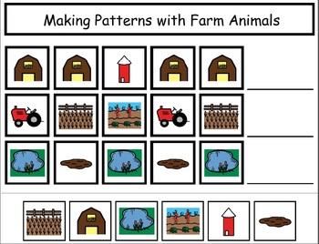 Adapted Boardmaker Farm Mini-Unit