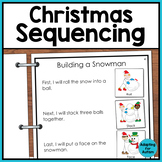 3 Step Sequencing Pack: Christmas Edition For Special Education and Autism