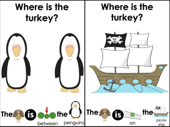 Interactive Book: A Turkey Story! A Thanksgiving Tale