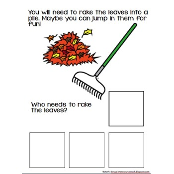 "Adapted Book ""All About Fall"" with WH Questions"