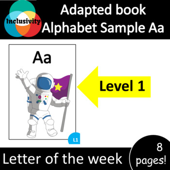 Adapted Book Alphabet Sample Aa Level 1