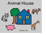 Adapted Book: Animal House (following 1-step directions)