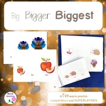 Adapted Book - Big, Bigger, Biggest