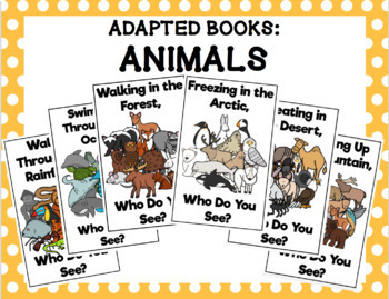 Adapted Book Bundle: Animals
