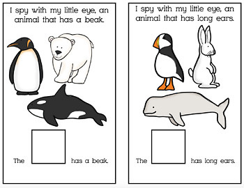 Adapted Book Bundle: I Spy Animals