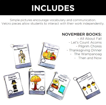 Adapted Book Bundle: November Books