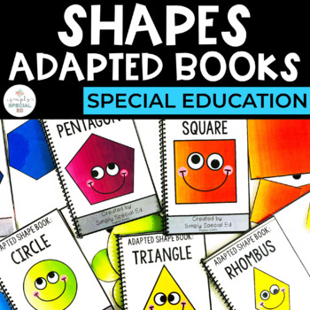 Adapted Book Bundle: Shapes