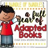 Adapted Book Bundle of Bundles (A Full Year of Books - Over 200 Books Included!)