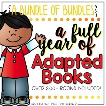 Adapted Book Bundle of Bundles (A Full Year of Books - Ove