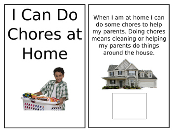 Adapted Book- Chores