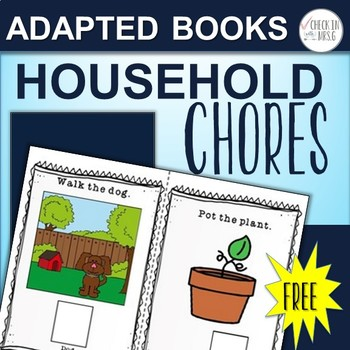 Adapted Book Chores