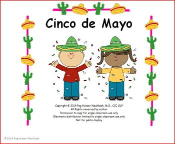 Interactive Book: Cinco de Mayo