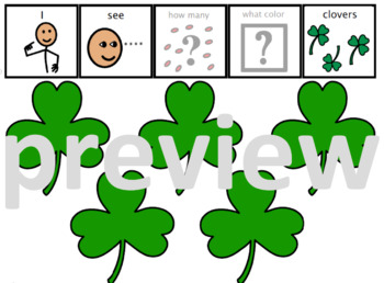 Adapted Book: Clover St Patrick's Counting