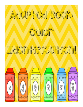 Adapted Book: Color Identification