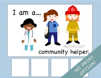 Adapted Book: Community Helpers