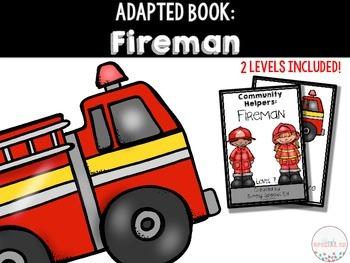 Adapted Book Community Helpers: Firemen!