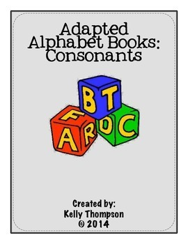 Adapted Book - Consonants Bundle