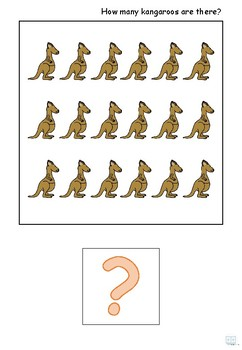 Adapted Book - Count to 20 (Animals)