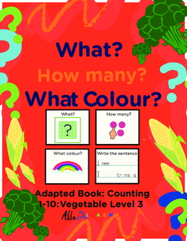 Adapted Book: Counting 1-10 & Printing: Transportation Theme